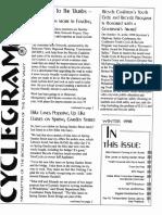 Cyclegram Winter 1998
