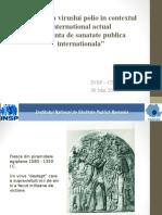 Circulatia Virusului Polio in Contextul International Actual