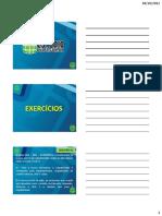 Aula 16 - Exercicios