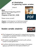 Generating Random Variables(1)