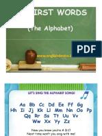 My First Words Alphabet