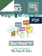Beginner Book 5 Short Vowel U