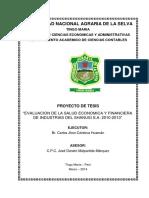 ProyectoTesis EvaluacionEconomicaFinanciera 2010 2013 VersionCorregida MAYO2014