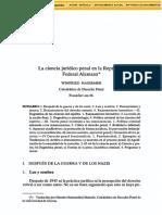HASSEMER, Winfried. La ciencia jurrídico penal en la república federal alemana..pdf