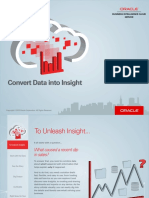 Oracle Business Intelligence Cloud Service Insight