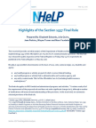 NHeLP Section 1557 Final Rule Analysis