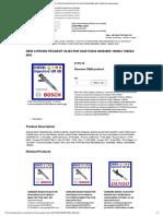 New Citroen Peugeot Injector 0445110252..