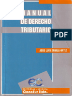 Manual de Derecho Tributario - Zavala