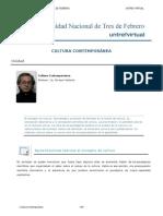 Clases Unidad 1 - Cultura contemporanea
