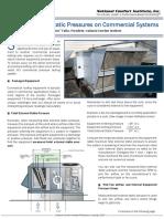 Commercial Static Pressure Test Methods
