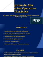 Informe Ministerio Del Interior