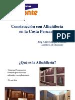 Albañilería en La Costa Peruana Diamante