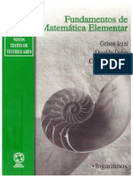 Fundamentos da Matematica Elementar - 02 - Logaritmos 2.pdf