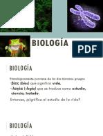 1. Introducción Biología