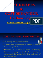 Cost Driver
