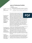 pediatrics  professional portfolio