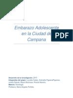 Embarazo Adolescente - Estudio Sociológico