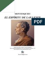Montesquieu-el Espiritu de Las Leyes-1748