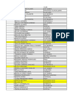 ORDEN de SALIDA Provisional Torneo Cartama Costasol