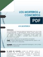 Materiales de Construccion Clase Morteros y Concretos