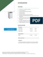 ClimatiseurDanbyPortatif5000BTU Spec DPA060CB4WDB - Product Specifications