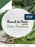 manual das ervas e ciclos femininos