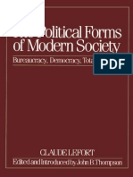 LIBRO LEFORT Claude -The Political Forms of Modern Society_ Bureaucracy, Democracy, Totalitarianism