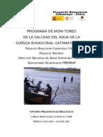 82.PROGRAMA DE MONITOREO  DE LA CALIDAD DEL AGUA DE LA CUENCA BINACIONAL CATAMAYO CHIRA.pdf
