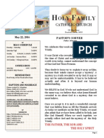 church bulletin 5-22-2016 v 1