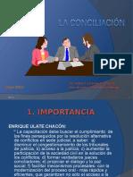 2.- La Conciliación