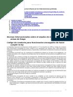 Uso y Manejo Fuerza Intervenciones Policiales Peru