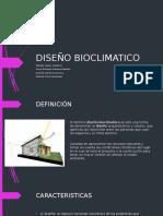 DISEÑO BIOCLIMATICO 2