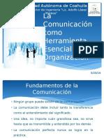 La Comunicación Como Herramienta Esencial en La Organización