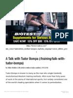 A Talk With Tudor Bompa _ T Nation