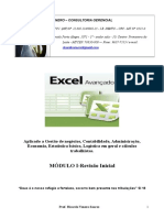 Apostila Excel Avanço 2015