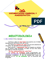 Documentacion Comercial y Administrativa i Fase