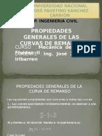 02.- Propiedades Generales de La Curva de Remanso