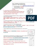 Área e Volume de Prismas - 9º Ano - 4º Bim - 08-11-2012