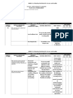 Sip Annex 5.1_planning Worksheet Access & Quality
