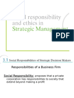 3. Social Responsibility and Ethics in Strategic Mgmt - Copy