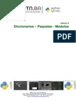 Unidad 2 Diccionarios Paquetes Modulos