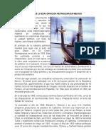 Historia Petrolera en Mexico
