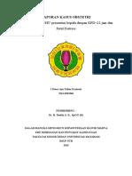 LAPORAN KASUS OBSTETRI Primi+KPD+FD