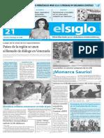 Edicion Impresa El Siglo 21-05-2016