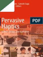 Pervasive Haptics