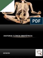 Historia Clinica Obst Clase
