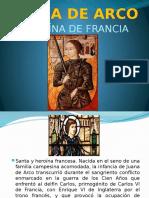 Juana de Arco. Heroína de Francia