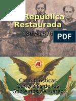 La República Restaurada