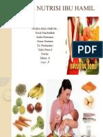 Penkes Nutrisi Ibu Hamil