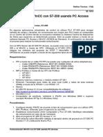 Comunicación WinCC con S7-200 usando PC Access